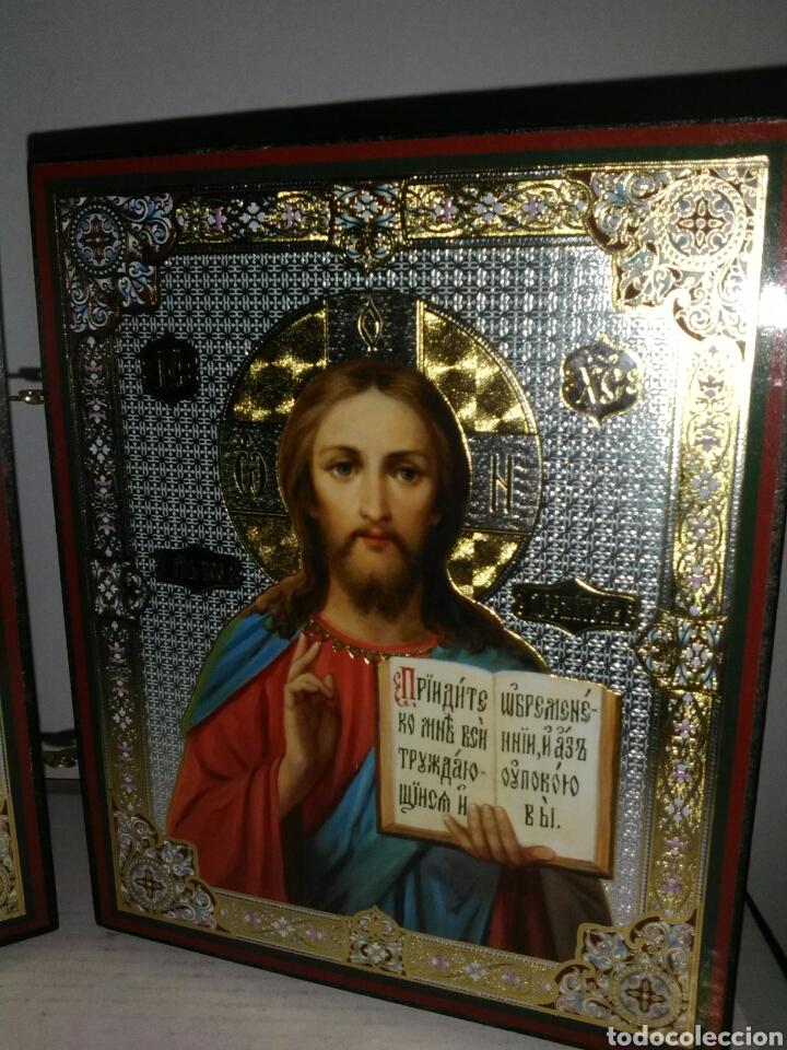Arte: PRECIOSO ICONO RUSO. - Foto 4 - 161688901