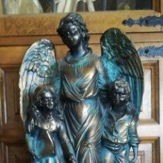 Arte: FIGURA DEL ANGEL DE LA GUARDA. Lote 161777300