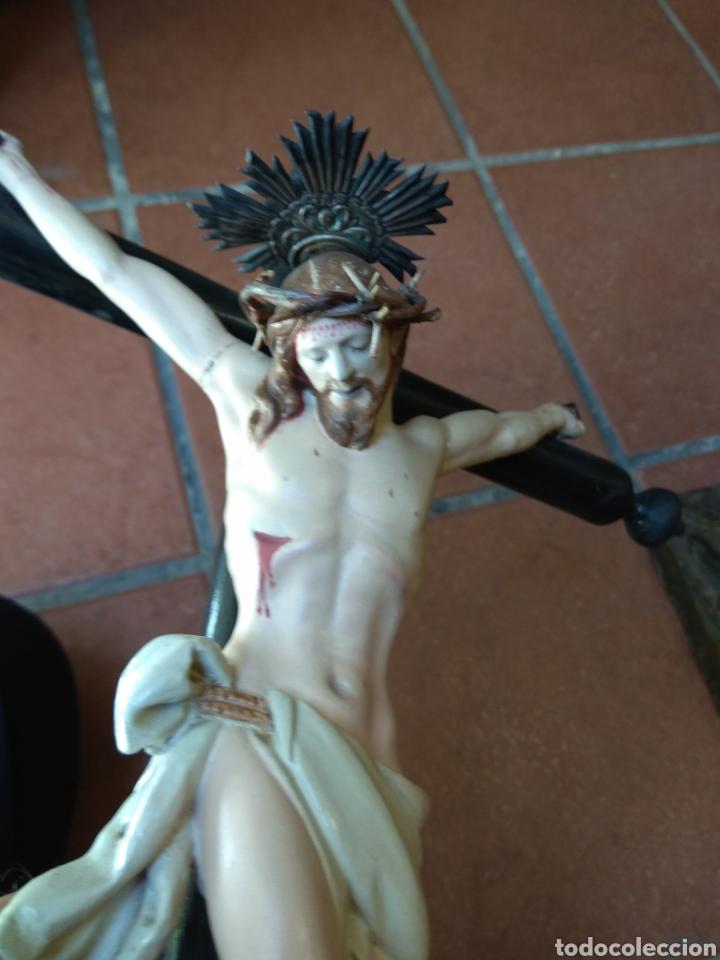 Arte: Cristo el la Cruz - Madera Policromada - - Foto 12 - 161839192