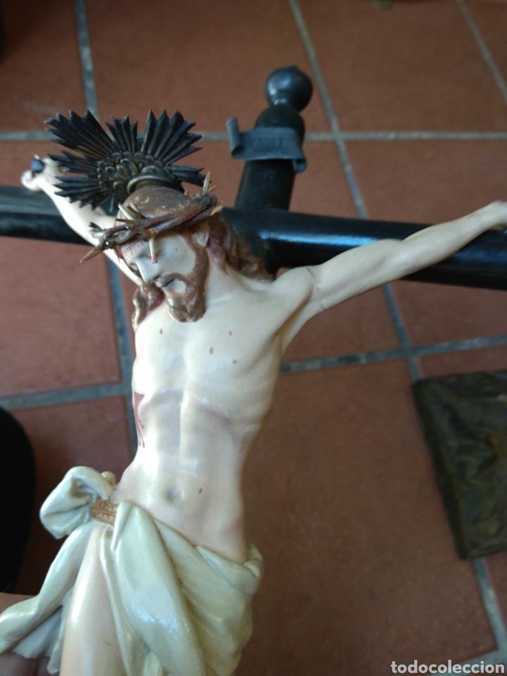 Arte: Cristo el la Cruz - Madera Policromada - - Foto 13 - 161839192