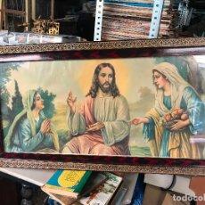 Arte: ANTIGUA LAMINA RELIGIOSA. Lote 161841222