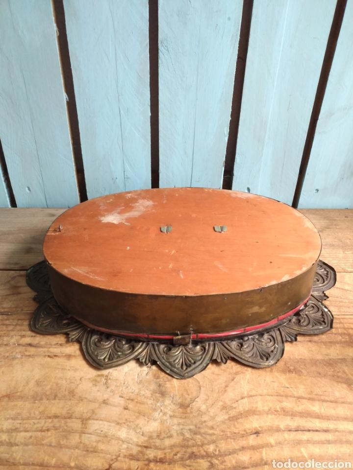 Arte: Inmaculada en madera tallada policromada - Foto 3 - 161893014