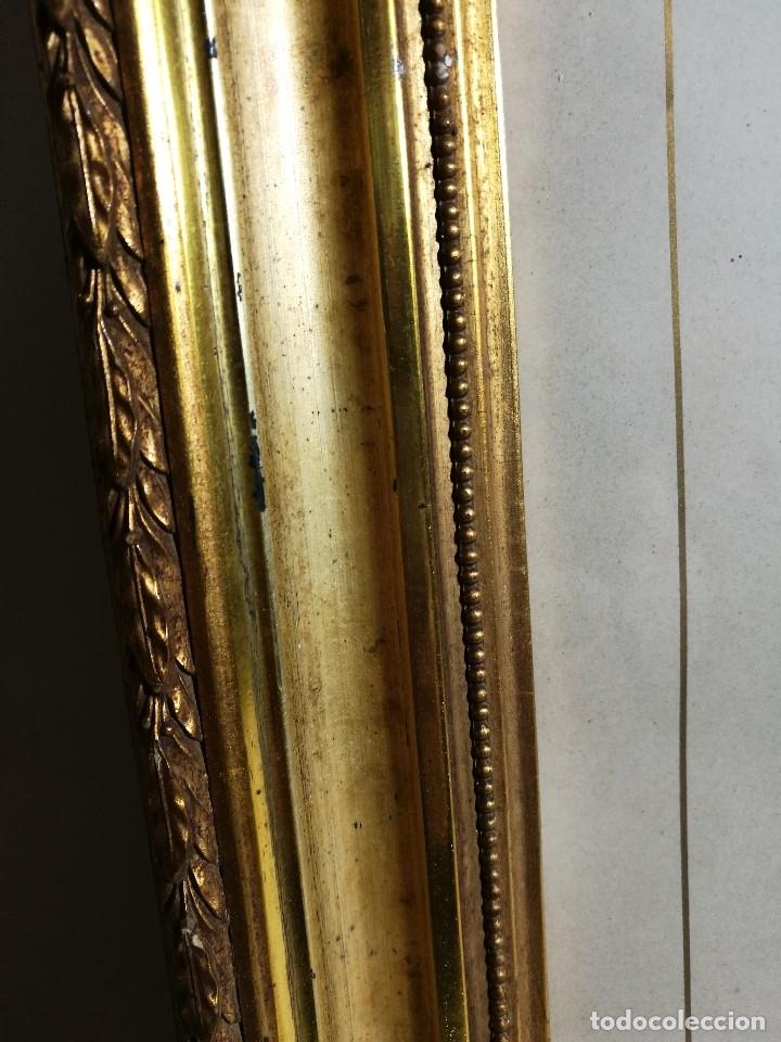 Arte: Litografía iluminada precioso marco de madera 8 enero 1897 - Reus - Ntra Sra de la Misericordia - Foto 8 - 162391166