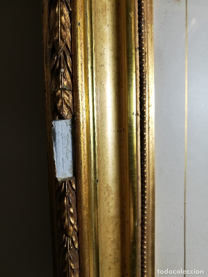 Arte: Litografía iluminada precioso marco de madera 8 enero 1897 - Reus - Ntra Sra de la Misericordia - Foto 10 - 162391166