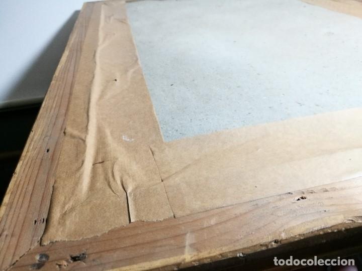 Arte: Litografía iluminada precioso marco de madera 8 enero 1897 - Reus - Ntra Sra de la Misericordia - Foto 44 - 162391166