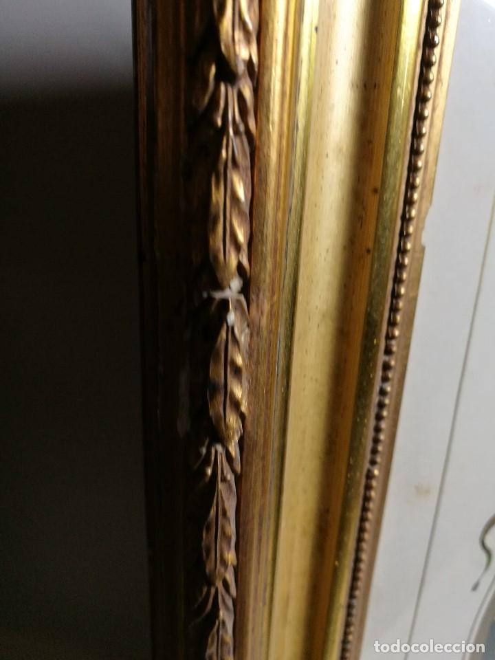 Arte: Litografía iluminada precioso marco de madera 8 enero 1897 - Reus - Ntra Sra de la Misericordia - Foto 50 - 162391166