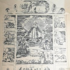 Arte: GRABADO PRINCIPIOS XX NUESTRA SEÑORA DE MISERICORDIA REUS . Lote 162778358