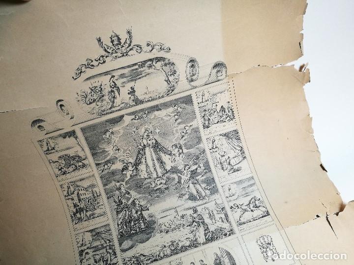 Arte: GRABADO PRINCIPIOS XX NUESTRA SEÑORA DE MISERICORDIA REUS - Foto 16 - 162778358