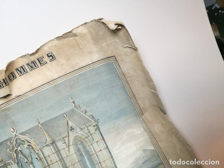 Arte: grabado ILUMINADO vestuario religioso en francia desde siglo XI al XVIII.. - Foto 16 - 162783514