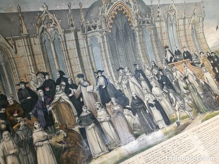 Arte: grabado ILUMINADO vestuario religioso en francia desde siglo XI al XVIII.. - Foto 24 - 162783514