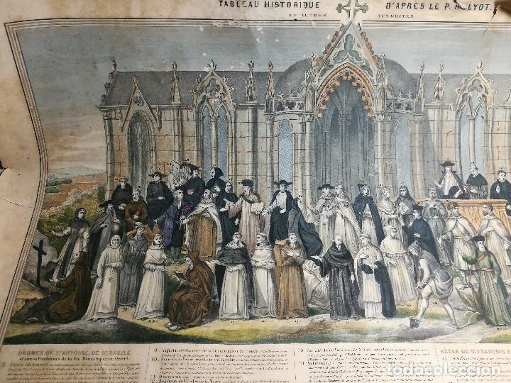 Arte: grabado ILUMINADO vestuario religioso en francia desde siglo XI al XVIII.. - Foto 27 - 162783514