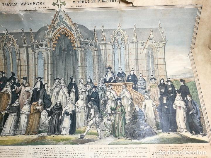 Arte: grabado ILUMINADO vestuario religioso en francia desde siglo XI al XVIII.. - Foto 28 - 162783514