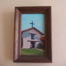 Arte: PEQUEÑO CUADRO. MISSION SAN FRANCISCO SOLANO. DE LA PINTORA JOSEPHINE JO. SPRANZO. LITTLE JEWELS. Lote 162805754