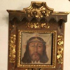 Arte: ÓLEO SOBRE TABLA. SANTA FAZ. SIGLO XVI, (1563). ESCUELA ANDALUZA. Lote 163107434