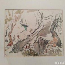 Arte: ACUARELA DEL PINTOR TITO CITTADINI. Lote 163538862