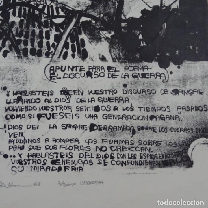 Arte: Litografía ilegible 2/3. - Foto 6 - 163605690