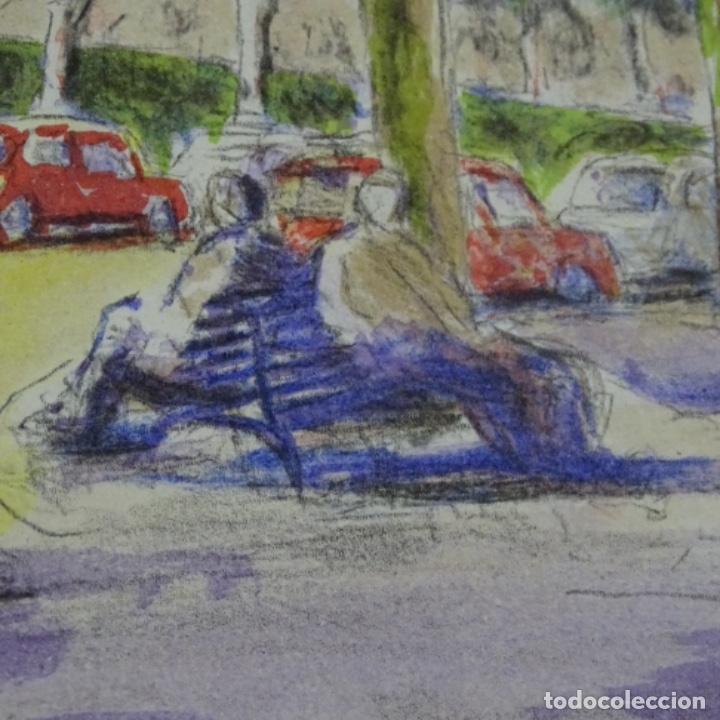 Arte: Litografía simo busom.112/150 - Foto 4 - 163607110