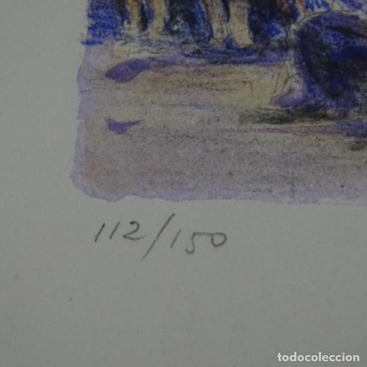Arte: Litografía simo busom.112/150 - Foto 5 - 163607110