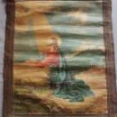Arte: ANTIGUO TAPIZ RELIGIOSO CON LA IMAGEN DE JESUCRISTO. FIRMADO DA ARTURO BORSARI. Lote 164727312