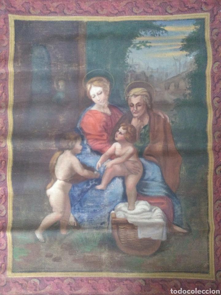 TELA RELIGIOSA (Arte - Arte Religioso - Pintura Religiosa - Otros)