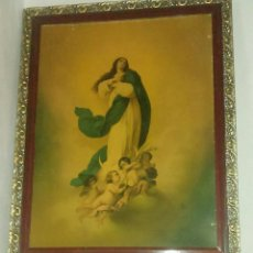 Arte: ANTIGUA Y GRANDE LITOGRAFIA DE LA INMACULADA.. Lote 164848610