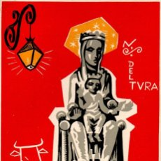 Arte: PROGRAMA DE LOS ACTOS RELIGIOSOS DEL TEMPLO DE NTRA. SRA. DEL TURA - OLOT 1962. Lote 164887038