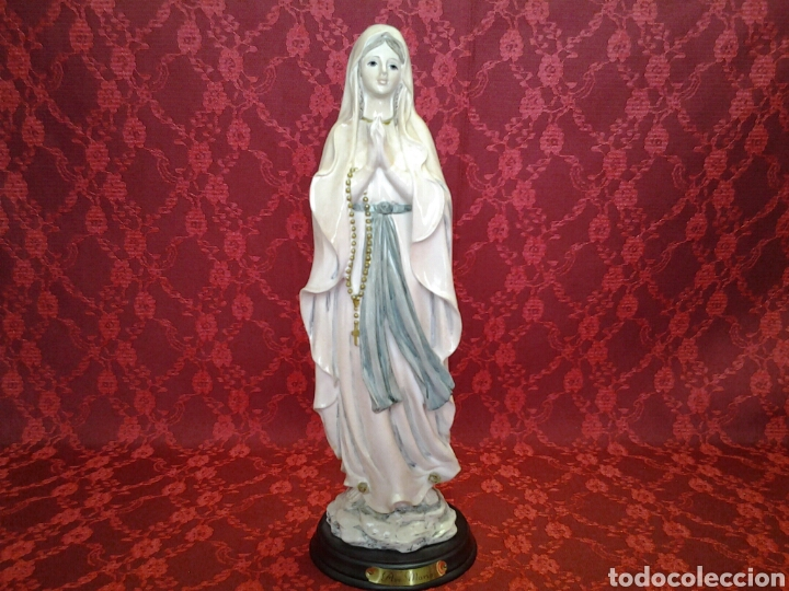 VIRGEN DE LOURDES (Arte - Arte Religioso - Escultura)
