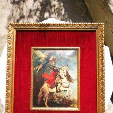 Arte: RETRATO ECUESTRE DE FELIPE V. FIRMADO EN 1737.. Lote 165521222