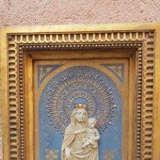 Arte: PLAFON RELIGIOSO CON SANTA Y NIÑO. Lote 165547438