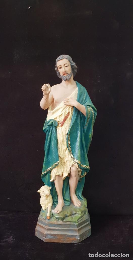 SAN JUAN BAUTISTA (Arte - Arte Religioso - Escultura)