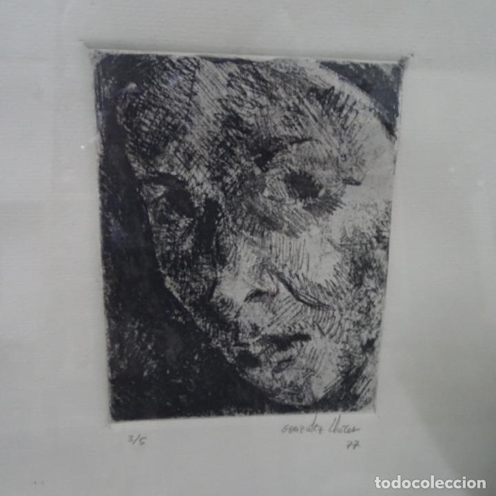 GRABADO DE GONZALEZ LLACER(JORDI O ÁNGEL) 1977.3/5. (Arte - Arte Religioso - Grabados)
