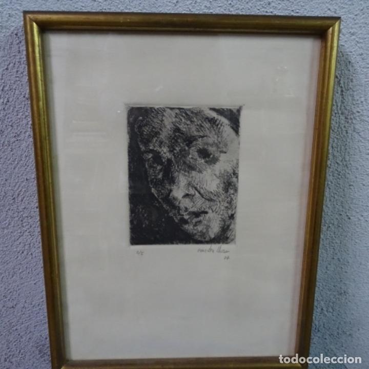Arte: Grabado de gonzalez llacer(Jordi o ángel) 1977.3/5. - Foto 2 - 166053818