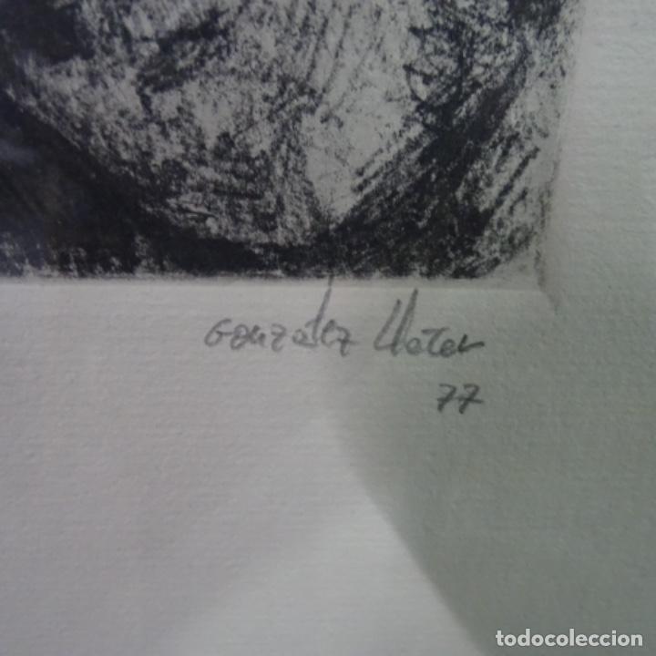 Arte: Grabado de gonzalez llacer(Jordi o ángel) 1977.3/5. - Foto 4 - 166053818