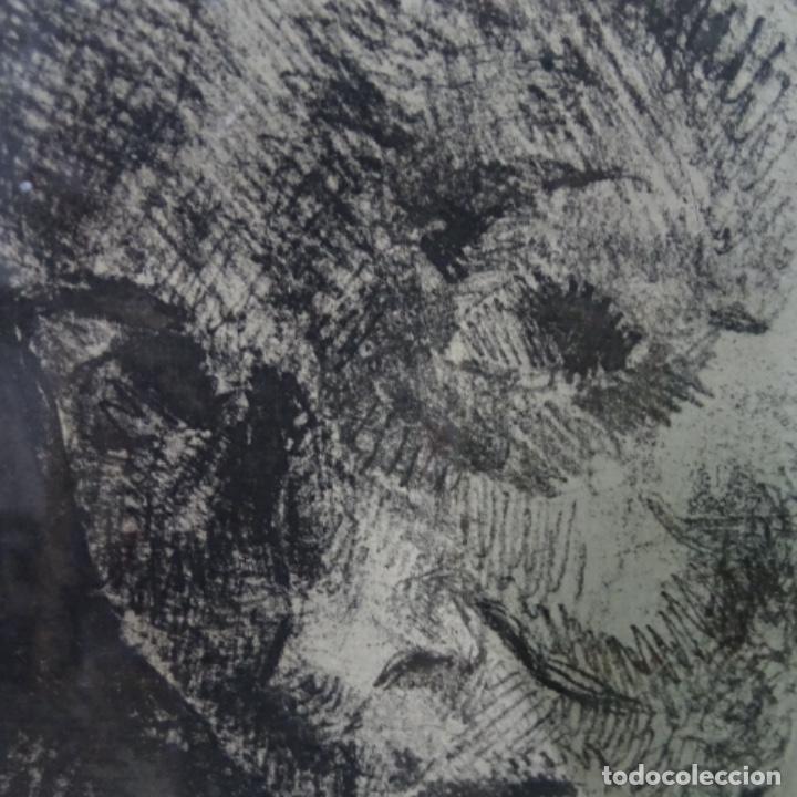 Arte: Grabado de gonzalez llacer(Jordi o ángel) 1977.3/5. - Foto 5 - 166053818