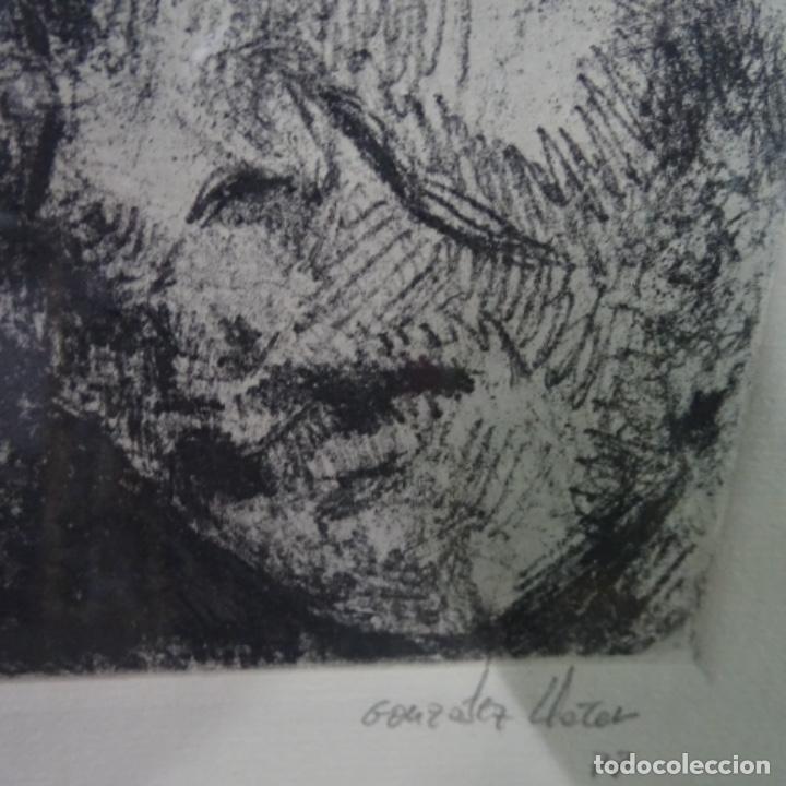 Arte: Grabado de gonzalez llacer(Jordi o ángel) 1977.3/5. - Foto 6 - 166053818