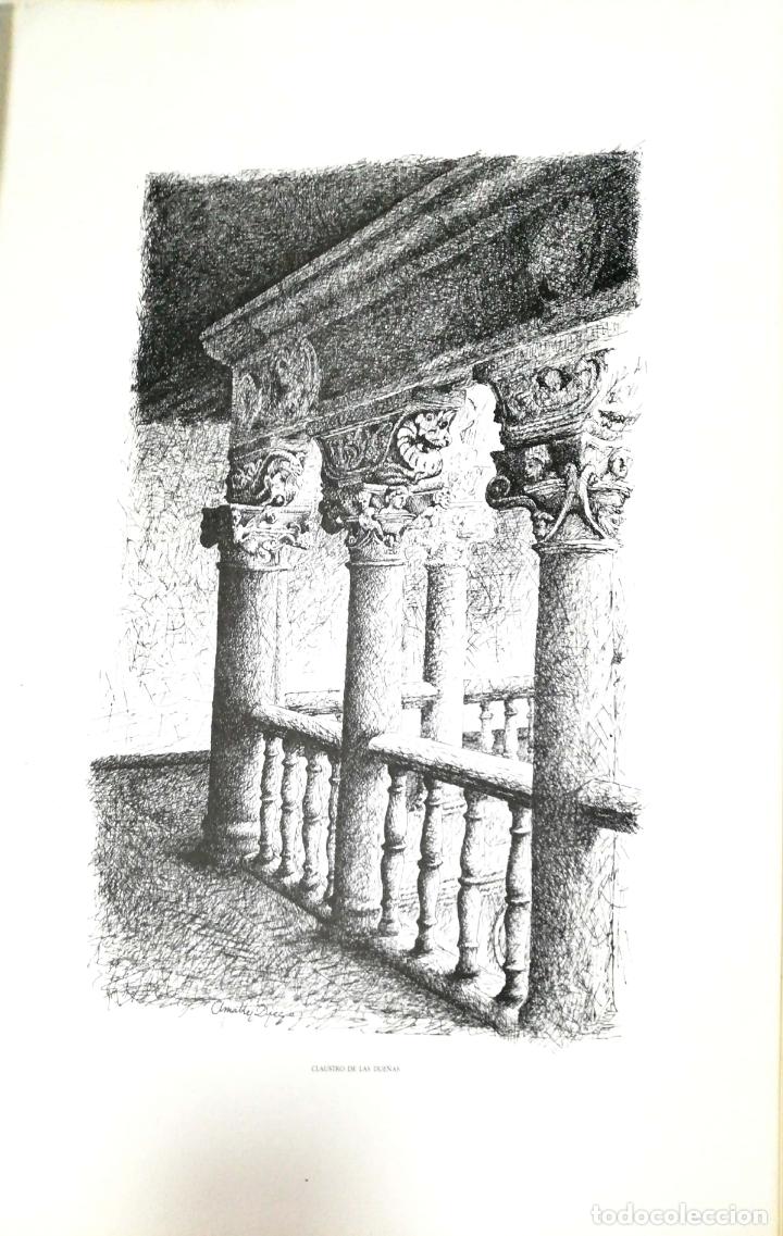 Arte: SALAMANCA EN DIBUJOS POR AMABLE DIEGO. CARPETA CON DIEZ DIBUJOS (REPRODUCIONES), EDITADA EN 1982. - Foto 5 - 166129614