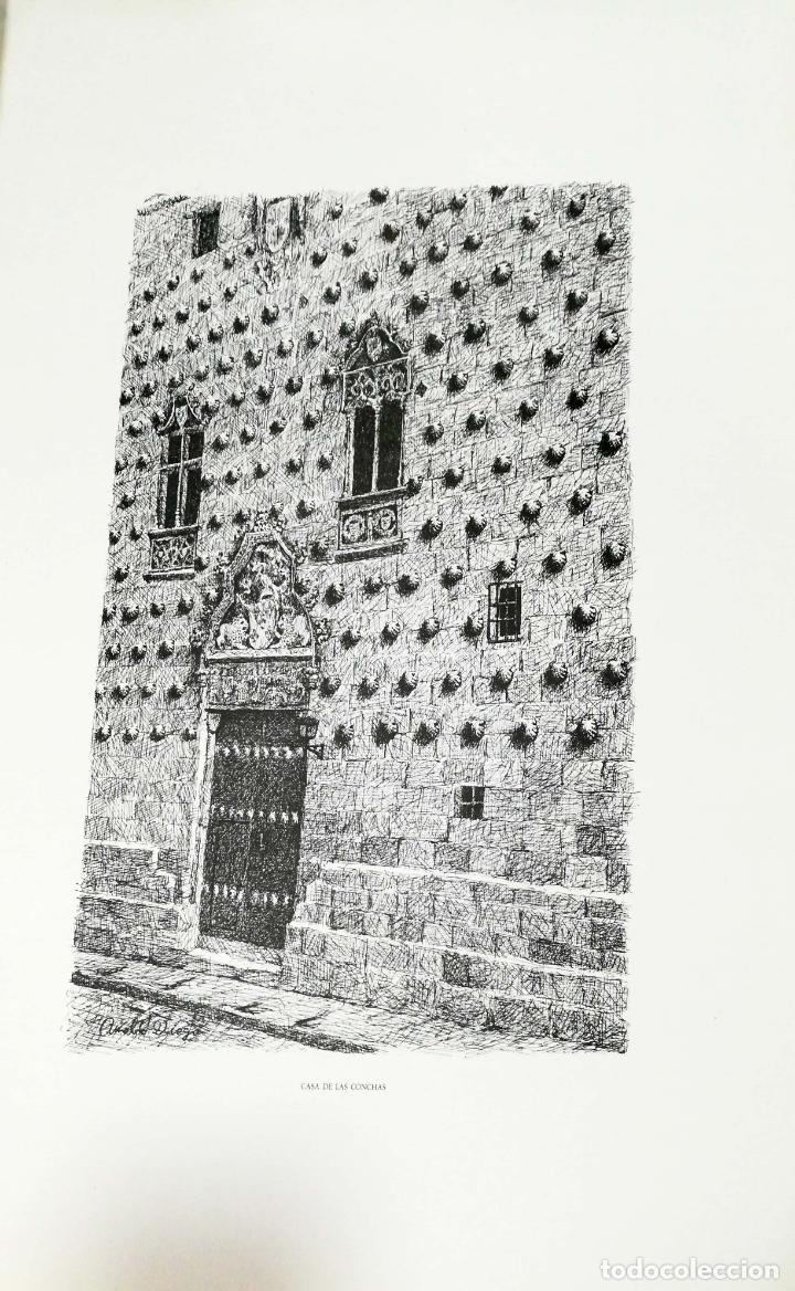 Arte: SALAMANCA EN DIBUJOS POR AMABLE DIEGO. CARPETA CON DIEZ DIBUJOS (REPRODUCIONES), EDITADA EN 1982. - Foto 6 - 166129614