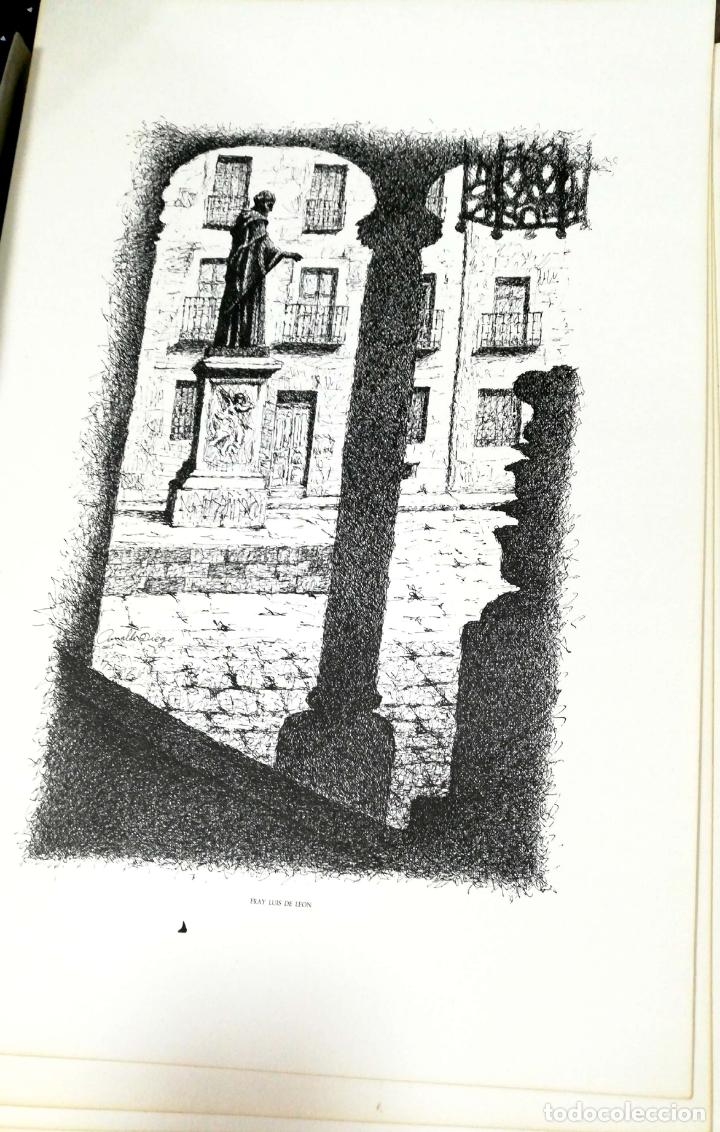 Arte: SALAMANCA EN DIBUJOS POR AMABLE DIEGO. CARPETA CON DIEZ DIBUJOS (REPRODUCIONES), EDITADA EN 1982. - Foto 9 - 166129614