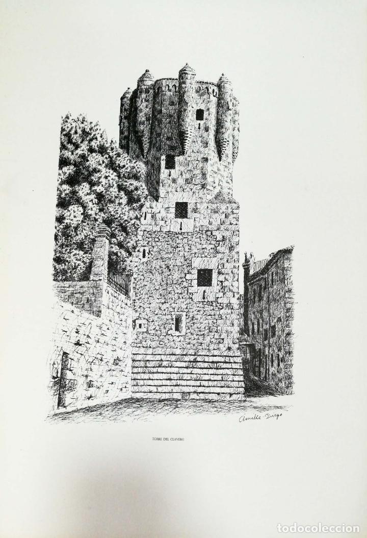 Arte: SALAMANCA EN DIBUJOS POR AMABLE DIEGO. CARPETA CON DIEZ DIBUJOS (REPRODUCIONES), EDITADA EN 1982. - Foto 11 - 166129614