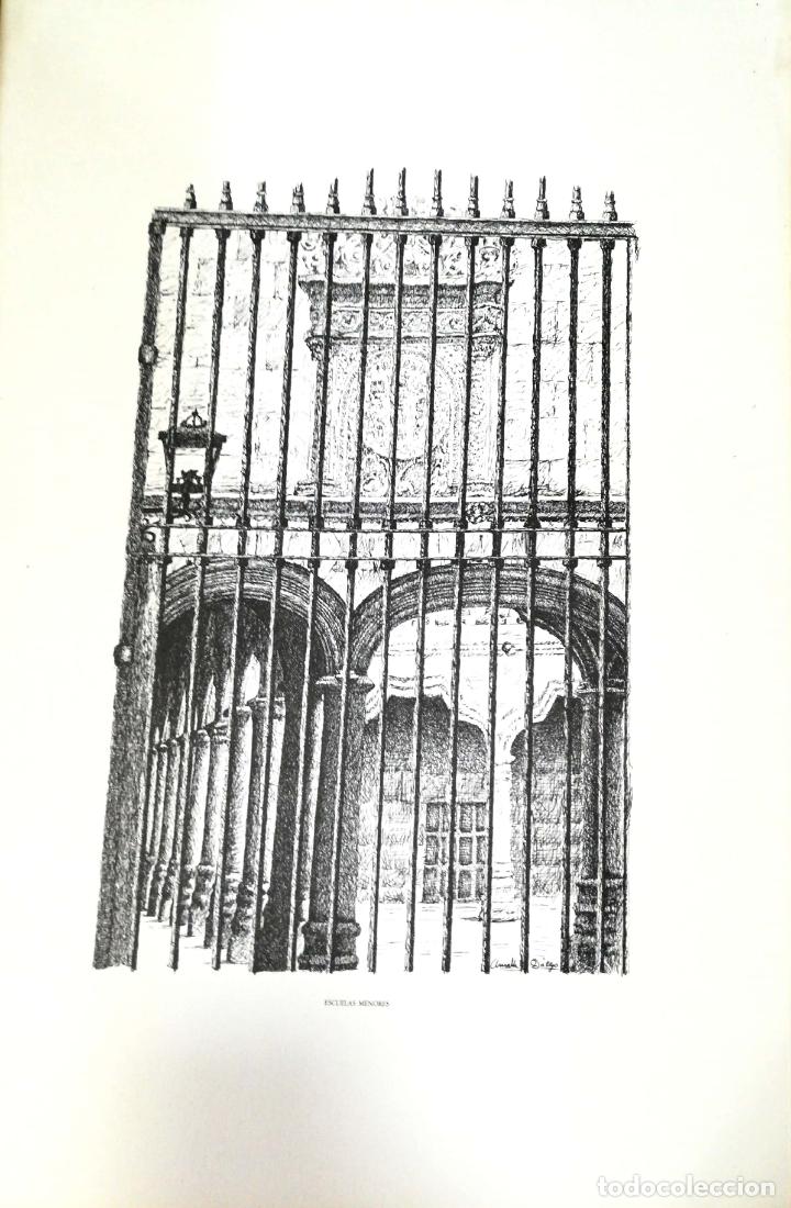 Arte: SALAMANCA EN DIBUJOS POR AMABLE DIEGO. CARPETA CON DIEZ DIBUJOS (REPRODUCIONES), EDITADA EN 1982. - Foto 13 - 166129614