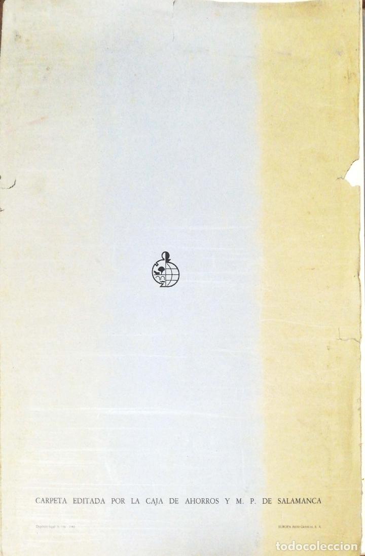 Arte: SALAMANCA EN DIBUJOS POR AMABLE DIEGO. CARPETA CON DIEZ DIBUJOS (REPRODUCIONES), EDITADA EN 1982. - Foto 14 - 166129614