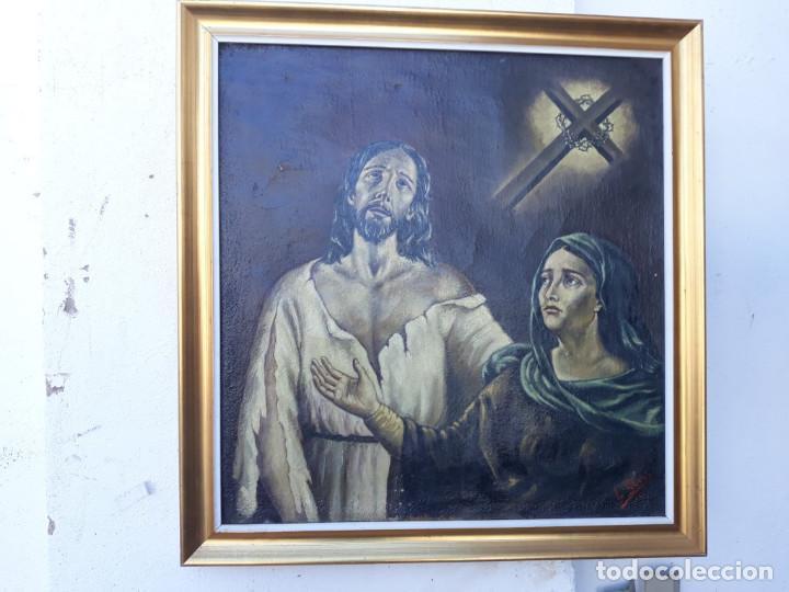 PINTURA RELIGIOSA 1965 (Arte - Arte Religioso - Pintura Religiosa - Oleo)