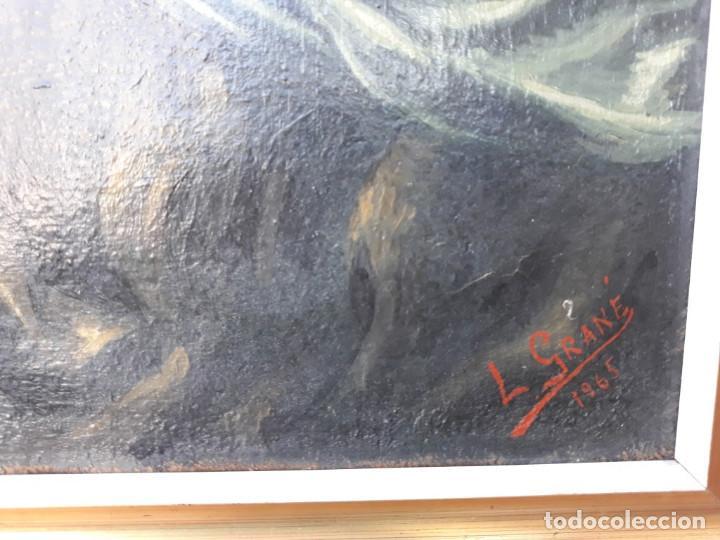 Arte: pintura religiosa 1965 - Foto 2 - 166175498