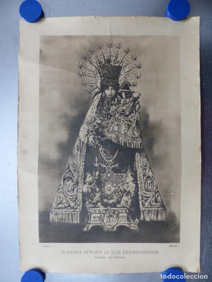 VALENCIA - NUESTRA SEÑORA DE LOS DESAMPARADOS - GRAFOS, MADRID (Arte - Arte Religioso - Litografías)