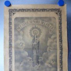Arte: VENERABLE SANTISIMA IMAGEN DE NUESTRA SEÑORA DEL PILAR. Lote 166259326