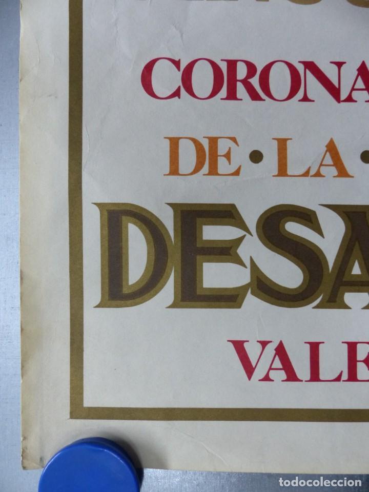 Arte: CINCUENTENARIO CORONACION PONTIFICA DE LA VIRGEN DE LOS DESAMPARADOS - VALENCIA - AÑO 1973 - Foto 2 - 166259690