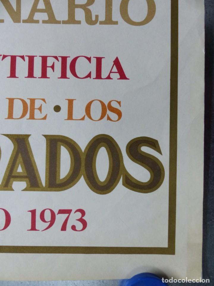 Arte: CINCUENTENARIO CORONACION PONTIFICA DE LA VIRGEN DE LOS DESAMPARADOS - VALENCIA - AÑO 1973 - Foto 3 - 166259690