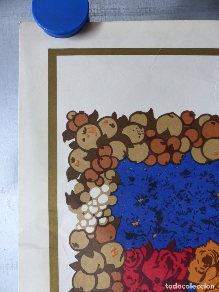 Arte: CINCUENTENARIO CORONACION PONTIFICA DE LA VIRGEN DE LOS DESAMPARADOS - VALENCIA - AÑO 1973 - Foto 5 - 166259690