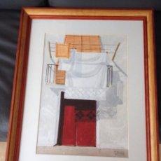 Arte: ACUARELA TASIO FLORS. Lote 166391510