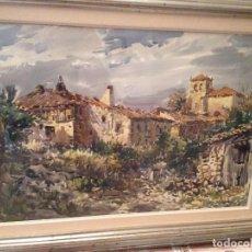 Arte: ACUARELA PASTOR CALPENA. Lote 166391786